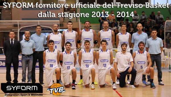 New Entry: Syform, nuovo partner di Treviso Basket e di Universo Treviso