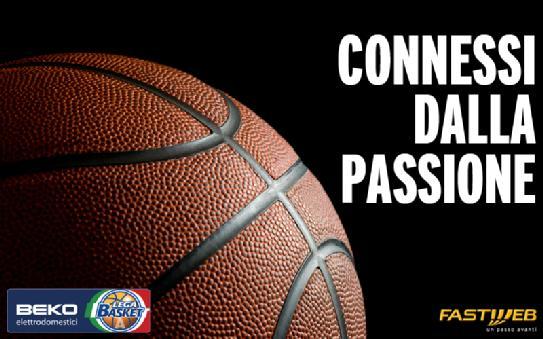 Fastweb diventa Official Partner della Lega Basket Serie A per la stagione 2014-2015