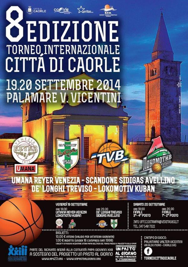 Un esclusivo weekend con TVB al Torneo di Caorle