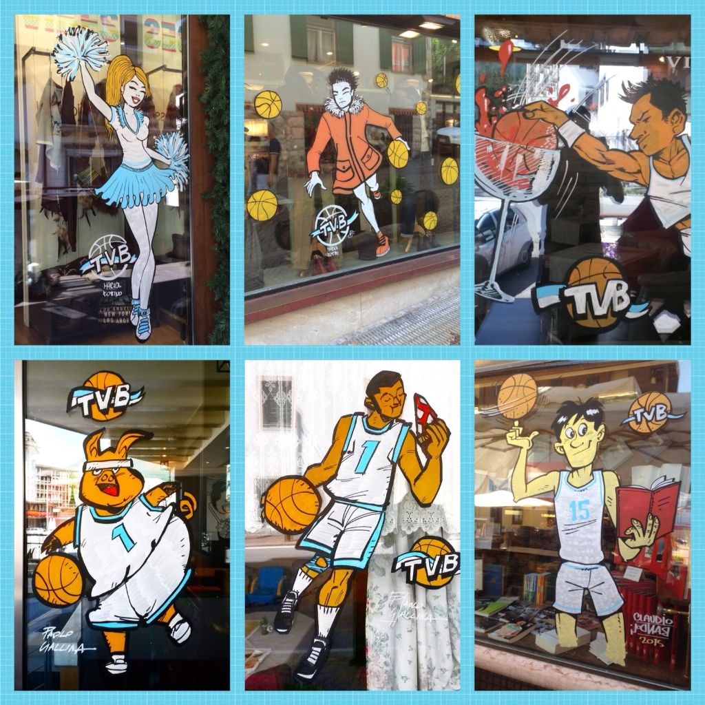 Cortina Basket Week in action!