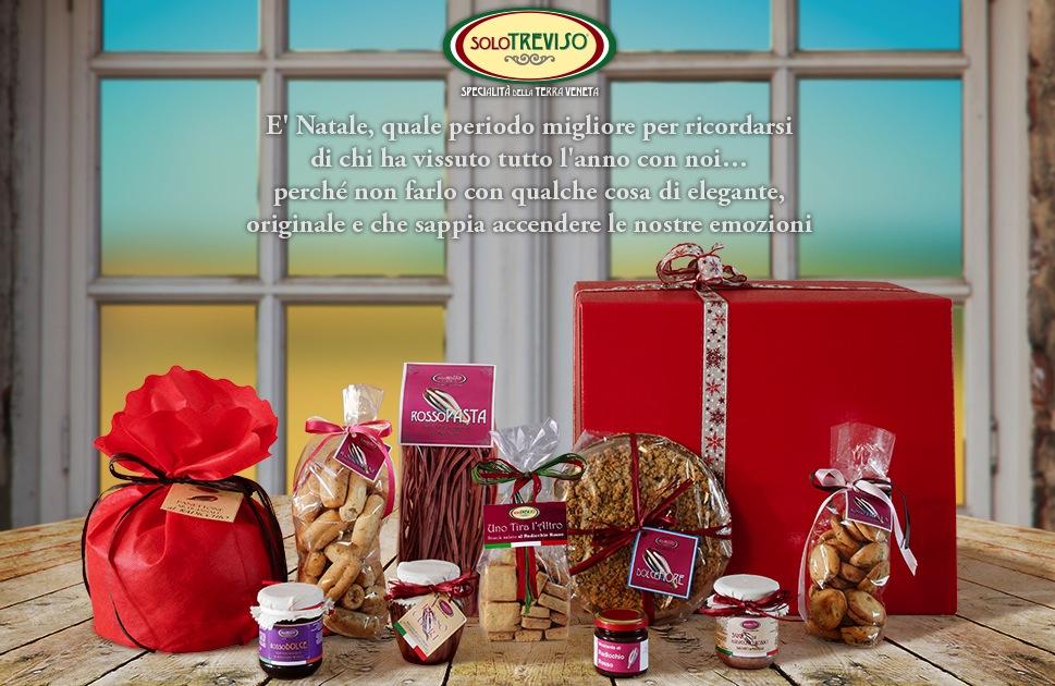 Anche le specialità di SOLO TREVISO deliziano il Natale di UniVerso Treviso