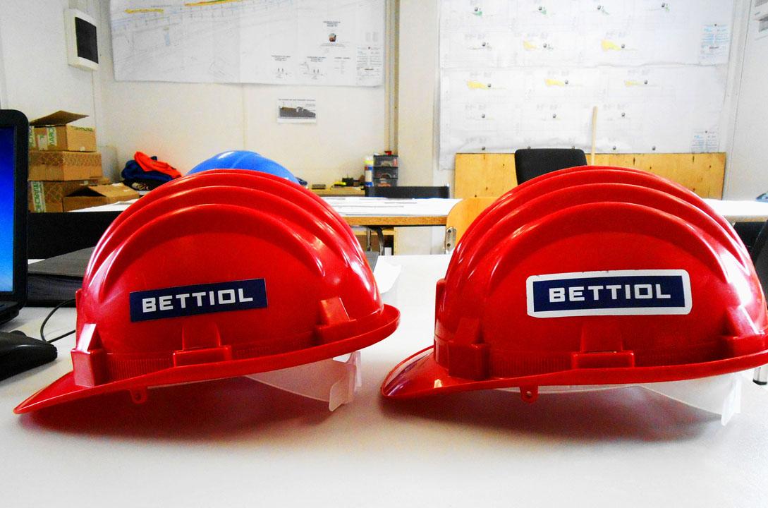 Bettiol Srl è al momento al lavoro con numerosi cantieri