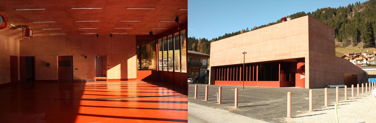 Stazione dei Vigili del Fuoco di Versciaco (BZ)
