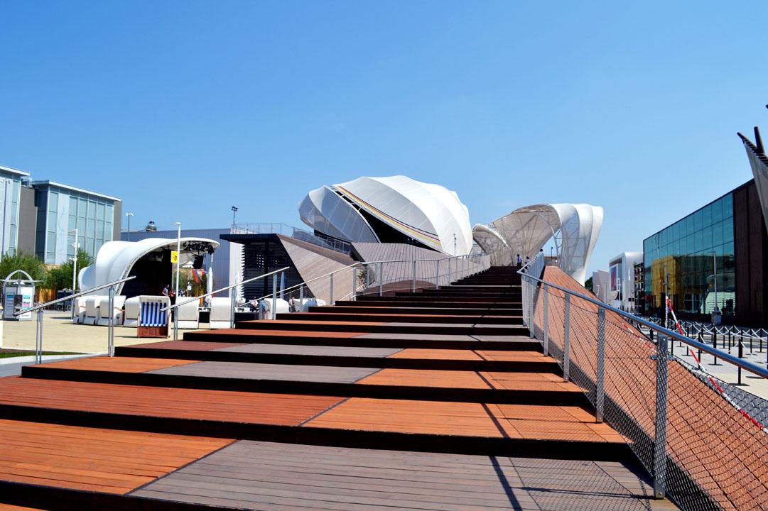 Padiglione Germania a EXPO Milano 2015
