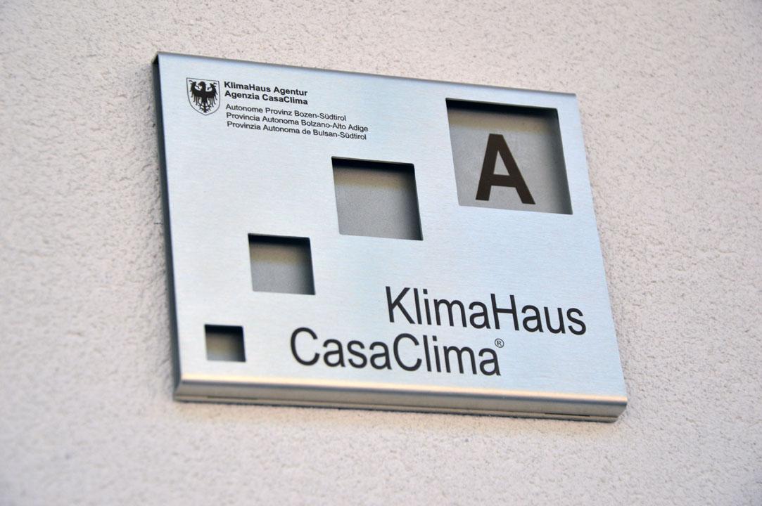Certificazione CasaClima di Classe A per la scuola Collodi a Pineta di Laives