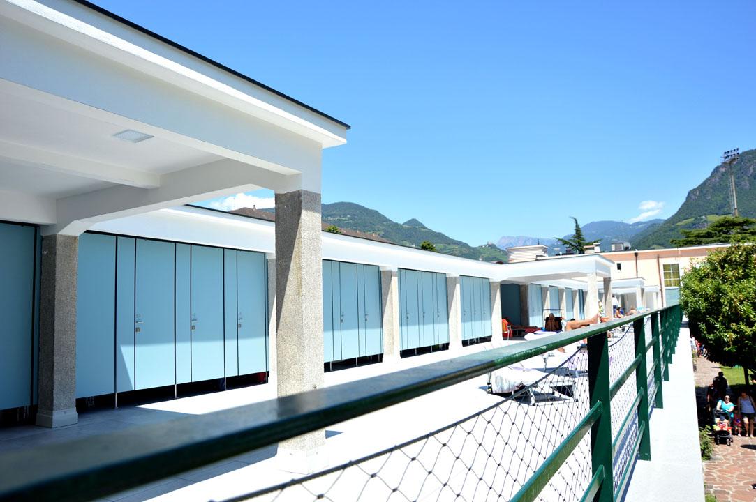 Ristrutturazione del complesso Lido di Bolzano (BZ)
