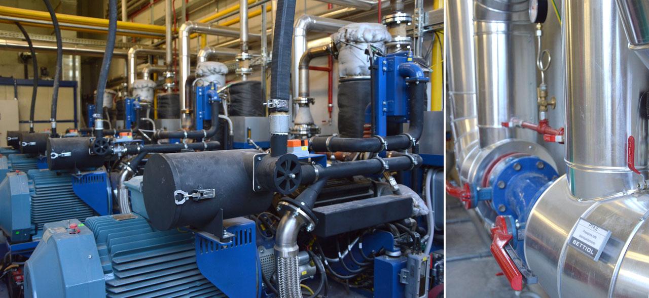 Centrale di cogenerazione a biomassa a Laimburg (BZ)