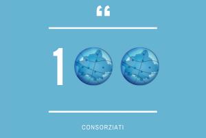 IL CONSORZIO FA...100!!  STORICO TRAGUARDO PER UNIVERSO TREVISO, GIUSTI WINE IL CONSORZIATO N° 100