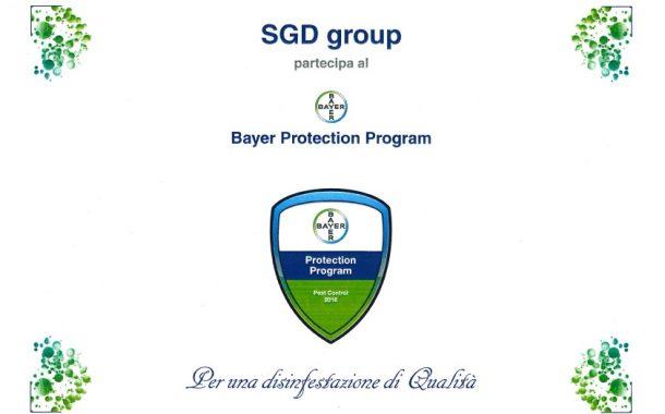 SGD Group: unica nel triveneto per il progetto BayerPP