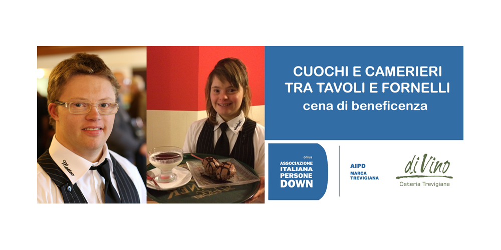 CENA BENEFICA con l'AIDP al BHR Treviso Hotel