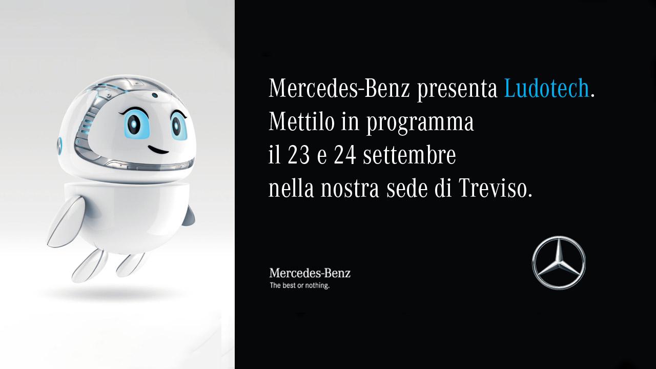 INVITO A LUDOTECH - Concessionaria Carraro Mercedes-Benz
