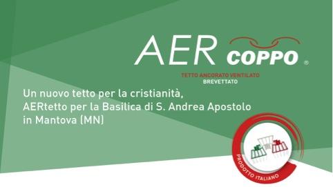 AERtetto per la Basilica di S.Andrea Apostolo in Mantova