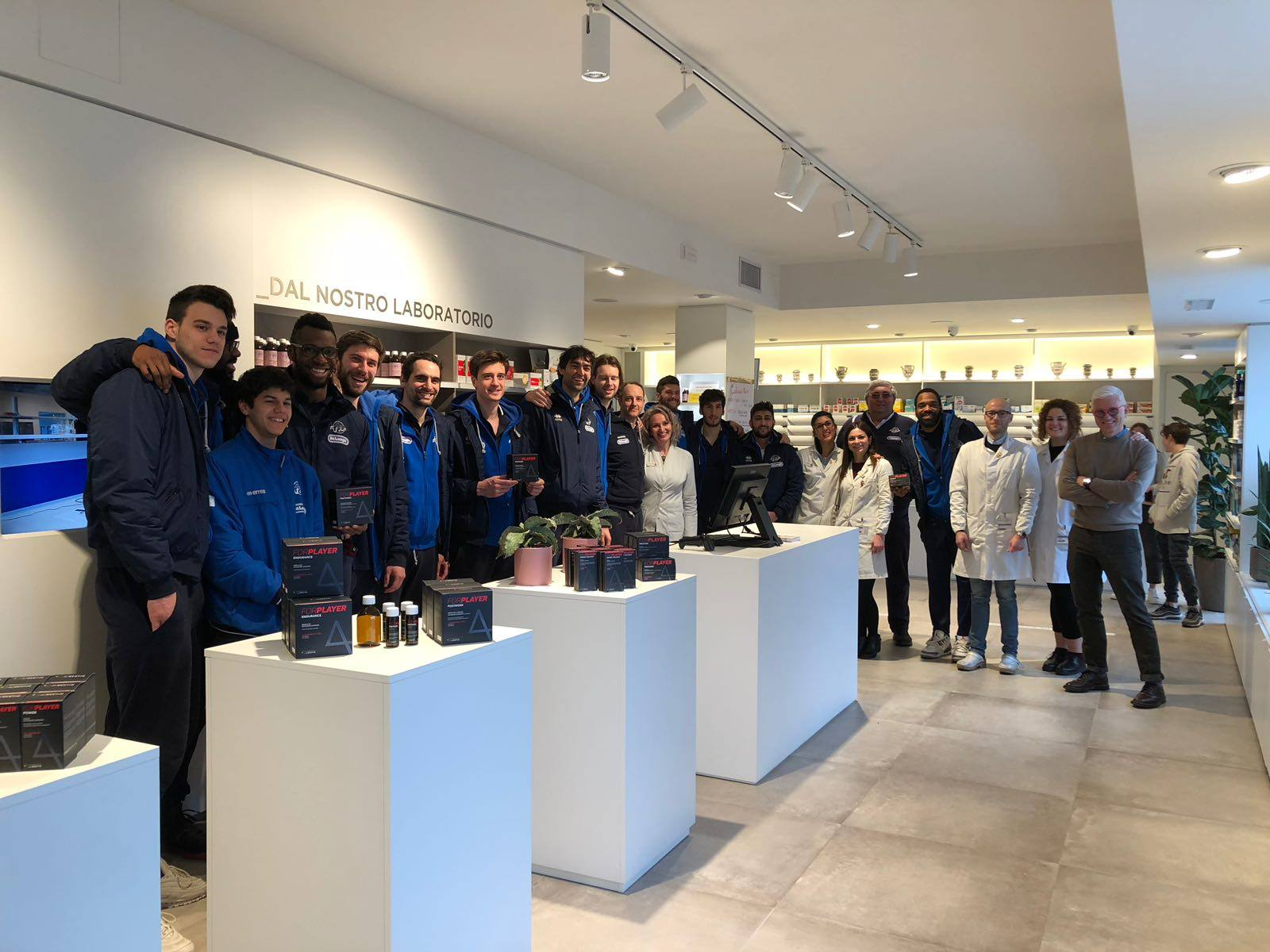 TVB in visita a Labomar