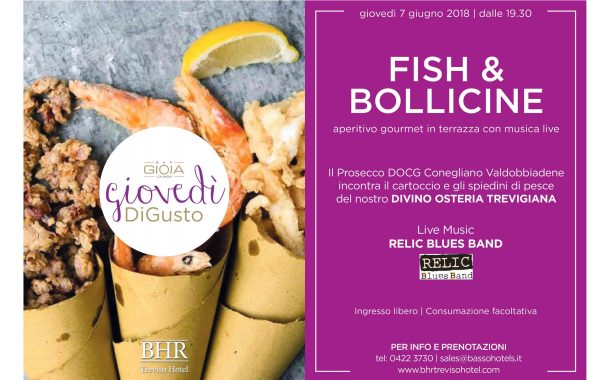 FISH & BOLLICINE al Gioja Lounge Bar