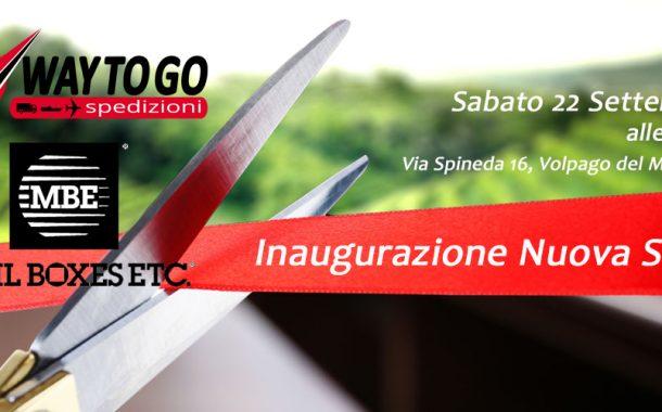 Inaugurazione nuova sede Way To Go / MailBoxes Etc.