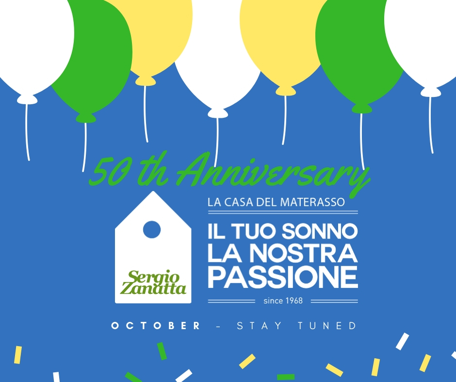 Casa_del_Materasso_Coming_Soon_50 th Anniversary