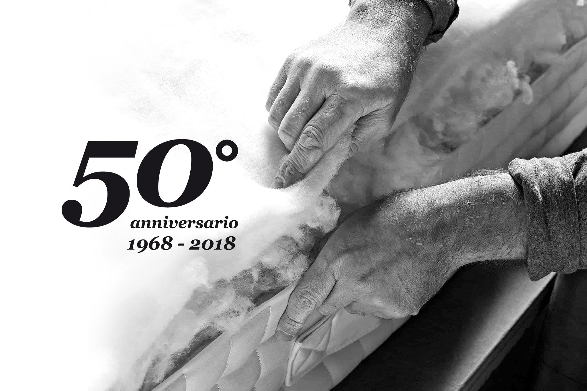 50 ANNI DI PASSIONE NEL FARVI DORMIRE BENE