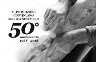 Continuano le promozioni del 50esimo anniversario