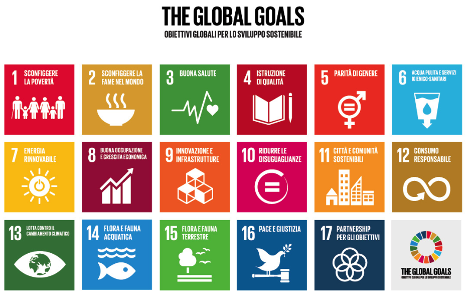 Service Vending vi invita all'evento THE GLOBAL GOALS