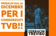 Al via i PreSaldi speciali di Ferracin Treviso!