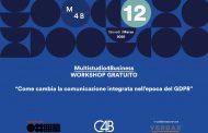 """Workshop gratuito: """"Come cambia la comunicazione integrata nell'epoca del GDPR"""""""