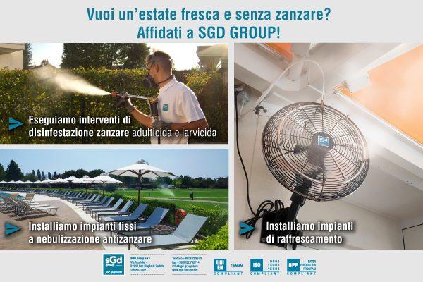 E...state senza zanzare, con SGD Group!