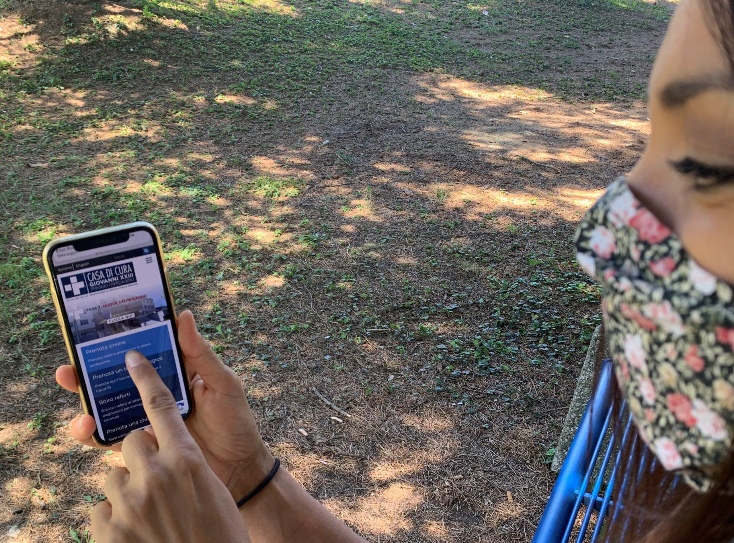 Prenotazione visite ed esami da smartphone