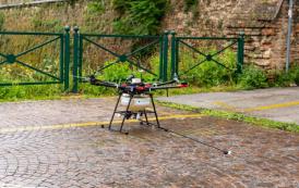 SGD Group: nuovi servizi con l'utilizzo del drone! Al via la prima sessione di diserbo delle Mura storiche di Treviso!