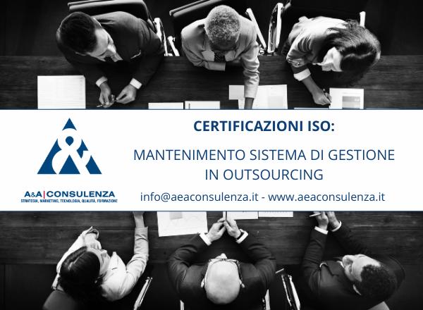 Il nostro consorziato A&A a supporto delle certificazioni di sistema