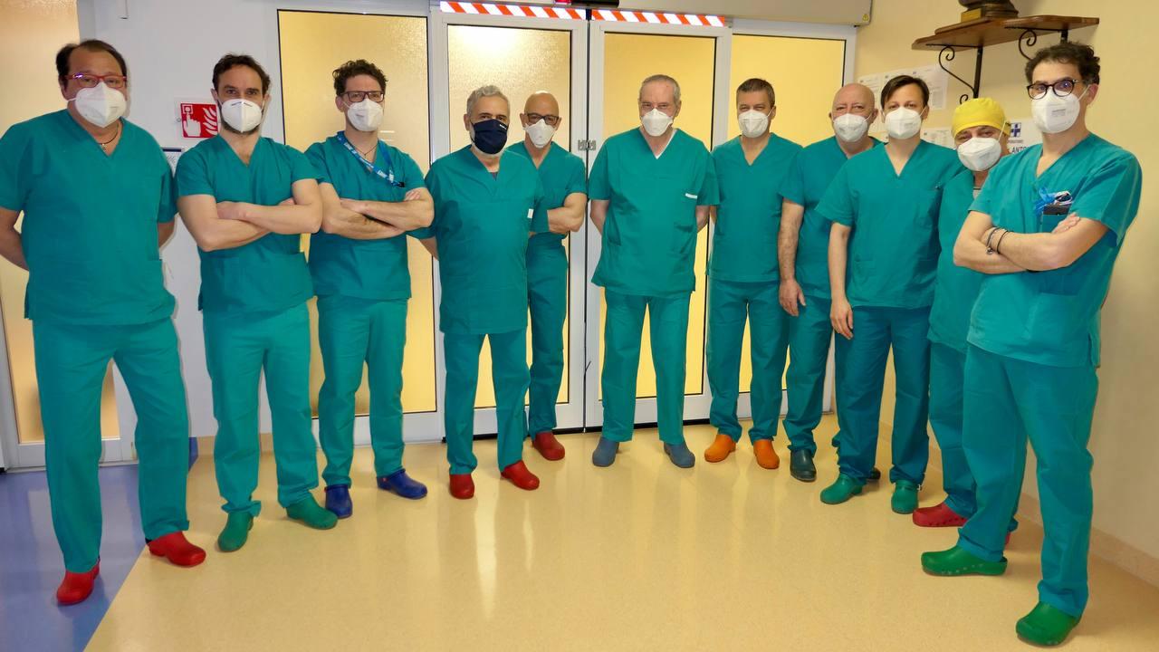 Equipe Chirurgia Protesica diretta da dottor Callea Giovanni XXIII Monastier